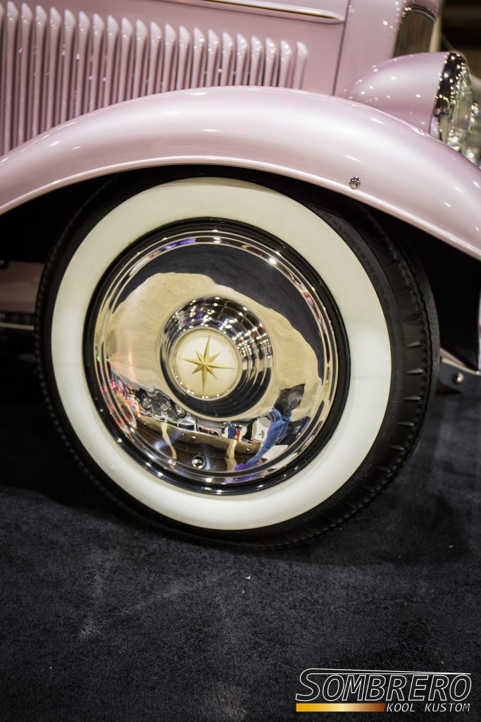 1932 Ford 3-Window Coupé, Roy Brizio, Street Rod, 1957 Lincoln Hubcaps