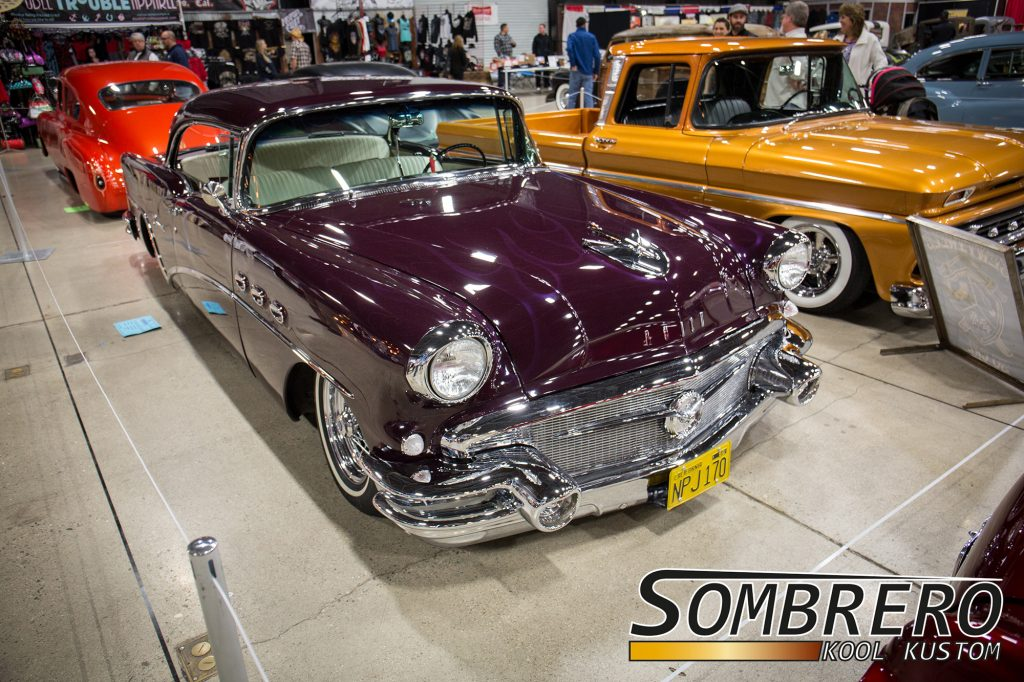1956 Buick Special Hardtop Coupé, Ghost Flames, Wire Wheels
