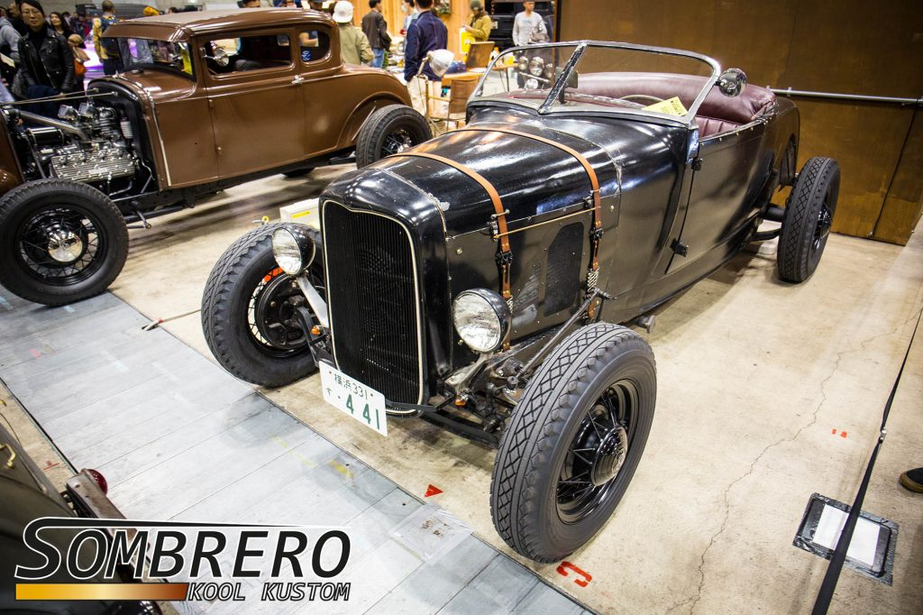 1928-29 Ford Model A Roadster, DuVall  Frontscheibe, Hot Rod, Flathead V8