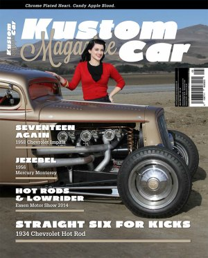 Kustom Car Magazine April/Mai 2015 Cover