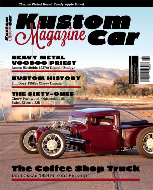Kustom Car Magazine August/September 2014 Cover