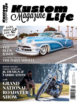 Kustom Life Magazine Ausgabe April/Mai 2019 Cover