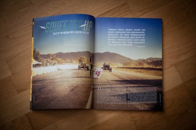 Kustom Life Magazine, Squeezed Up The Movie, Dirk The Pixeleye Behlau, Stefan Immke, Road Movie