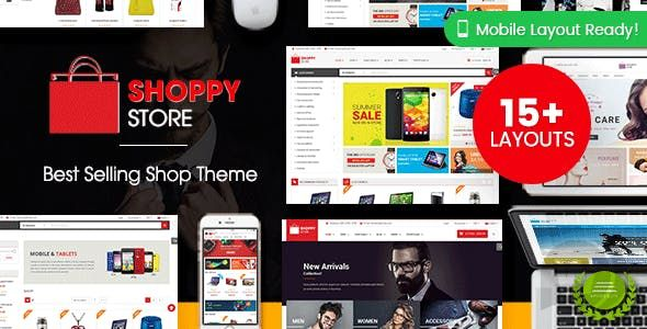 Wordpress E-ticaret Teması ShoppyStore full indir 2021
