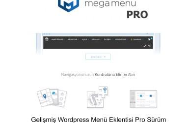 Max Mega Menü Pro
