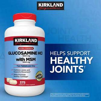 Kirkland-Glucosamine-HCI-with-MSM-1500mg