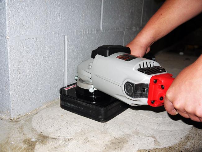 KutRite KR7  Handheld Concrete Grinders and Polishers Polished Concrete Surface Preparation