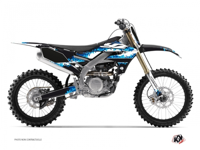 Yamaha 250 YZF Dirt Bike Hangtown Graphic Kit Blue
