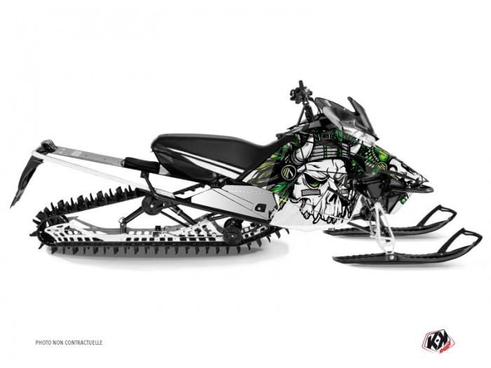 Yamaha SR Viper Snowmobile Nativ Graphic Kit White