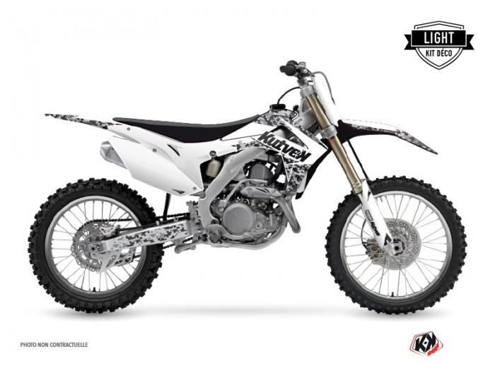 Kit graphique Moto Cross Predator Honda 450 CRF Blanc