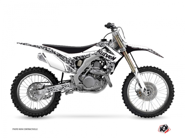 Honda 450 CRF Dirt Bike Predator Graphic Kit White
