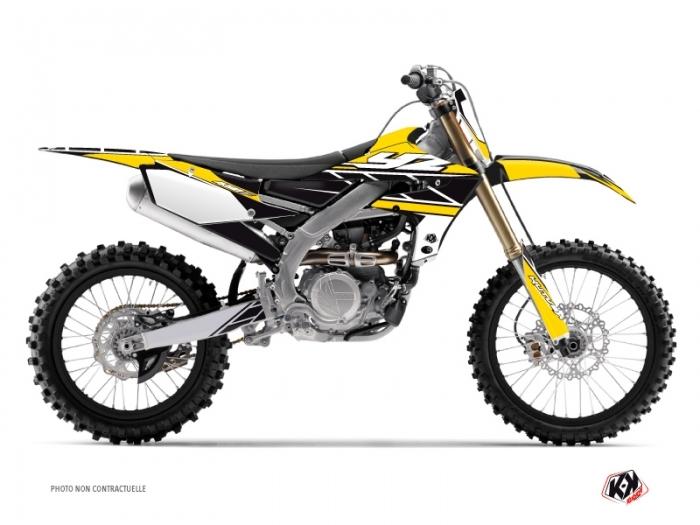 Kit graphique Moto Cross Replica Yamaha 450 YZF Jaune