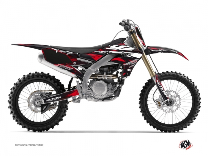 Kit graphique Moto Cross Techno Yamaha 250 YZF Rouge