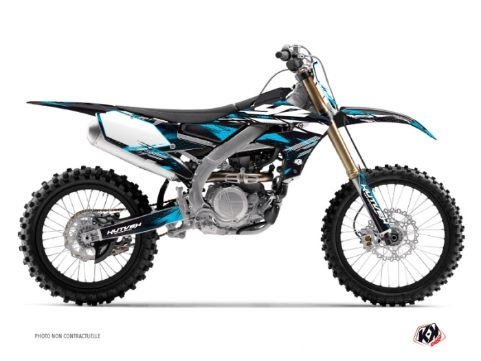 Kit graphique Moto Cross Techno Yamaha 450 YZF Bleu