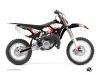 Kit graphique Moto Cross Hangtown Yamaha 85 YZ Rouge
