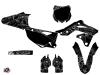 Kawasaki 250 KXF Dirt Bike Zombies Dark Graphic Kit Black