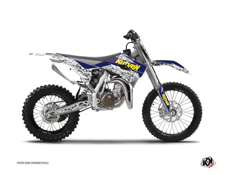 Husqvarna TC 85 Dirt Bike Predator Graphic Kit Purple