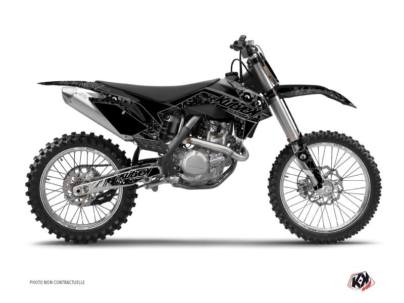 KTM 250 SX Dirt Bike Zombies Dark Graphic Kit Black
