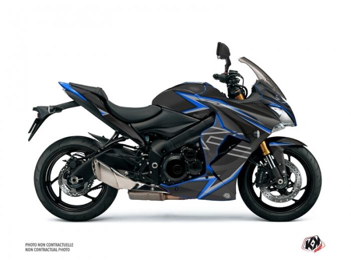 Kit Dco Moto Profil Suzuki GSX S 1000 F Noir Bleu