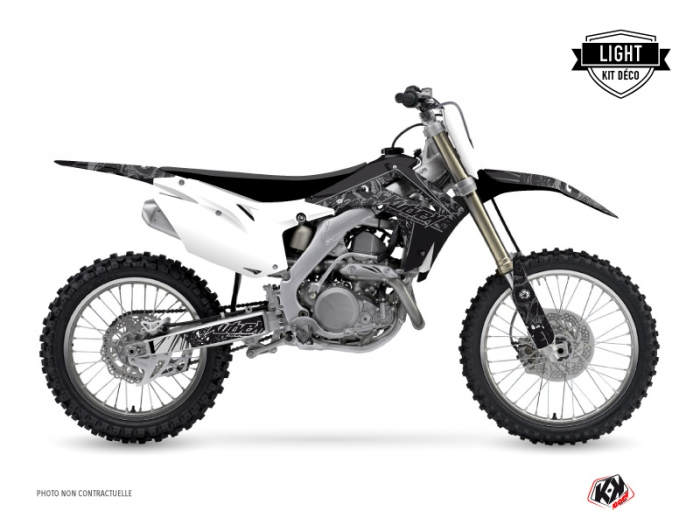 Kit Déco Moto Cross Zombies Dark Honda 450 CRF Noir LIGHT