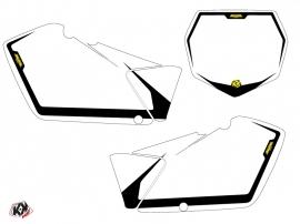 Kit Déco Fonds de plaques ALFA Moto Cross Suzuki 250 RM