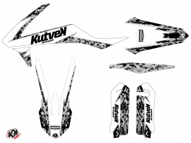 Kit Déco Moto Cross Predator KTM 125 SX Blanc LIGHT