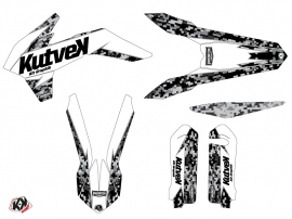 Kit Déco Moto Cross Predator KTM 250 SX Blanc LIGHT