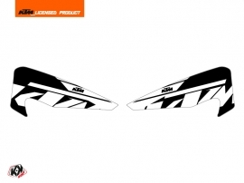 Kit Déco Stickers de protege mains Reflex Moto Cross KTM
