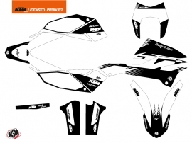KTM 690 ENDURO R Dirt Bike Retro Graphic Kit Black