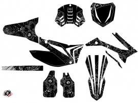 Kit Déco Moto Cross Zombies Dark TM MX 450 FI Noir