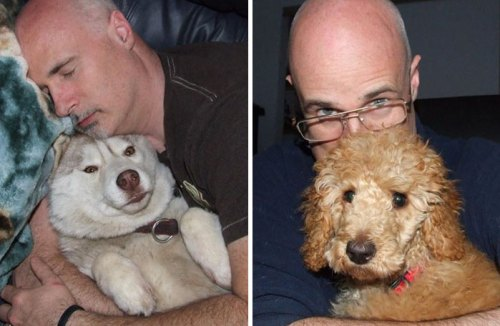 Mark Starmer fanatikus kutyarajongó - 45 kutyát fogadott örökbe (Fotó: boredpanda.com)