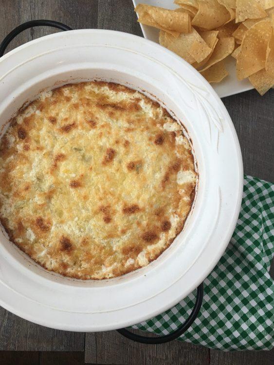 Creamy Crab Artichoke Dip