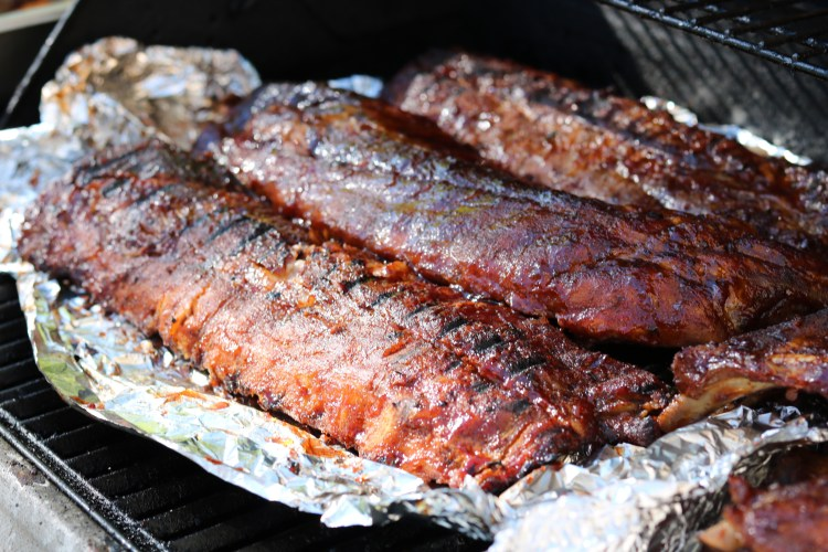 Apple Glazed- BBQ Baby Back Ribs