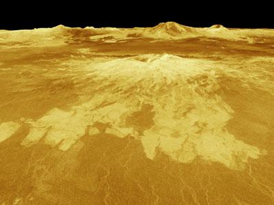 Aphrodite Terra op Venus