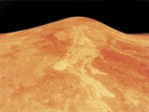 Sif Mons op Ishtar Terra