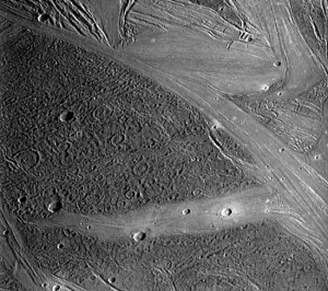 Ganymedes - maan van Jupiter