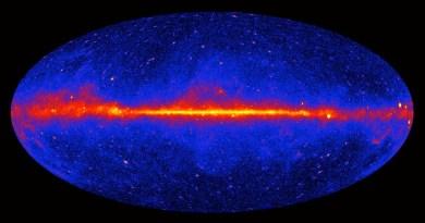 Opname van de Fermi Space Telescope