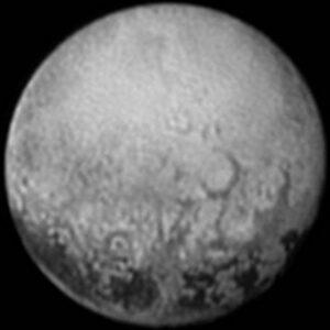 Pluto op 11 juli 2015