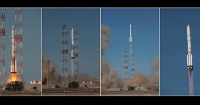 Lancering van de Proton-M met aan boord de Inmarsat satelliet