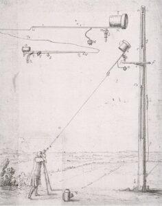 Een buisloze telescoop van Huygens
