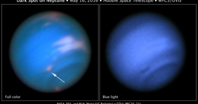 De nieuwe donkere vlek op Neptunusnus