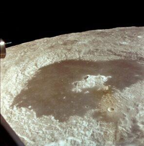 De krater Tsiolkovsky
