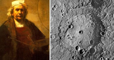 Rembrandt en Mercurius