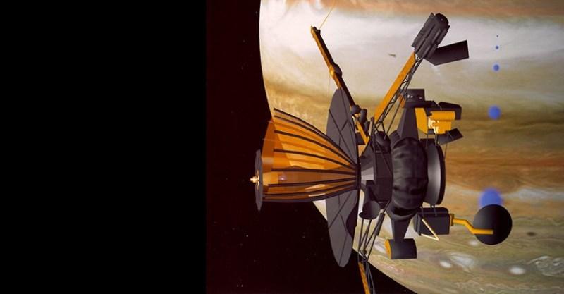 De Galile-sonde bij Jupiter