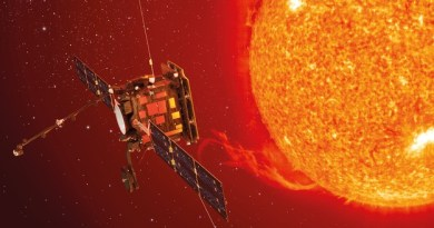 Solar Orbiter bij de Zon