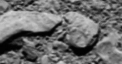 De laatste foto van Rosetta