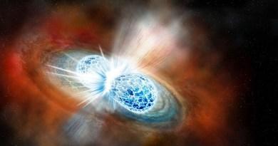 samensmeltende neutronensterren