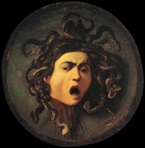 Medusa volgens Caravaggio