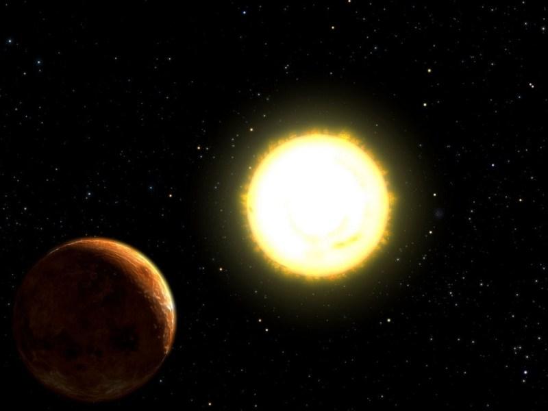 55 Cancri e - planeet Janssen