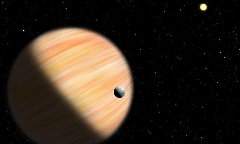 artist impression van een exoplaneet
